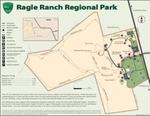 Ragle Ranch Regional Park Map