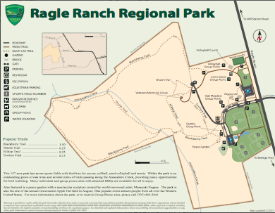 Ragle Ranch Regional Park Map