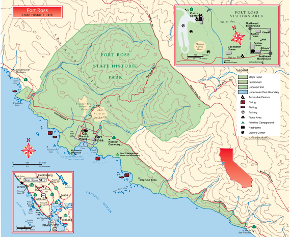 Download the Official Fort Ross State Historic Park Map/Brochure