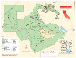 Jack London State Park Map