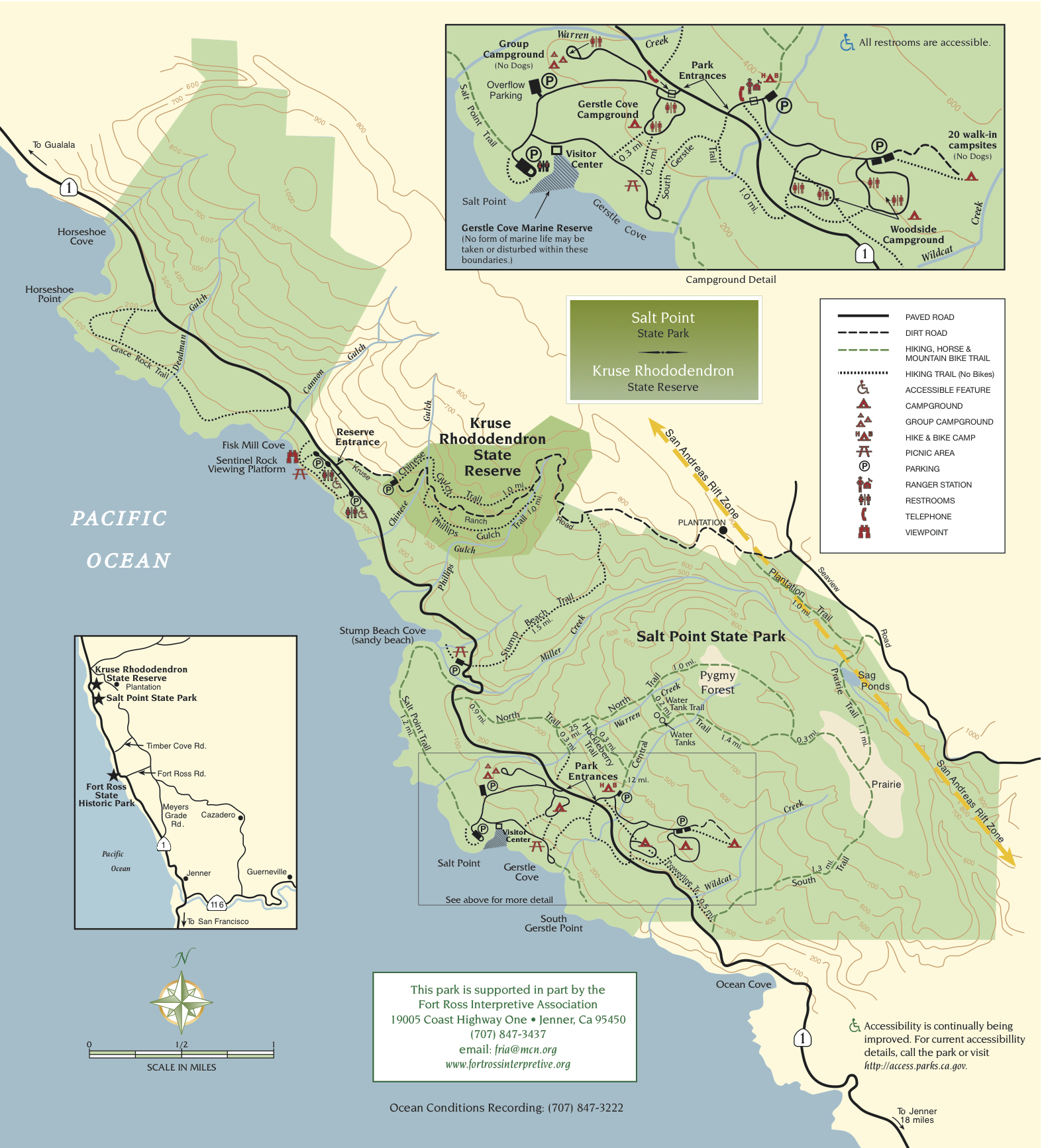 Salt Point State Park | Sonoma Hiking Trails
