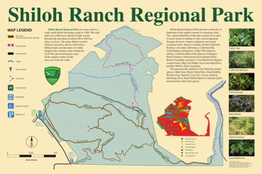 Shiloh Ranch Regional Park map