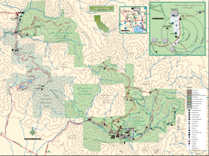 Sugarloaf Ridge State Park Map