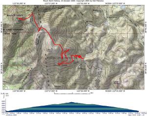 Stevenson Memorial Trail - Mt. St. Helena summit