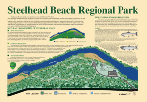 Steelhead Beach Regional Park Map