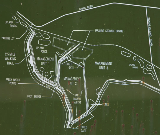Hudeman Slough Wetlands - map